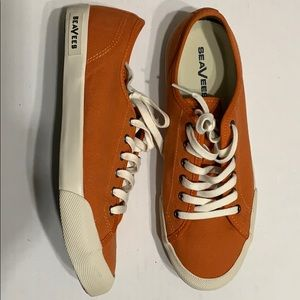 SeaVees Canvas Sneakers Size 9